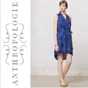 Anthropologie Porridge shirt dress Polka Dot 6